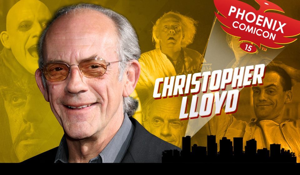 Christopher Lloyd and More Coming to Phoenix Comicon 2015