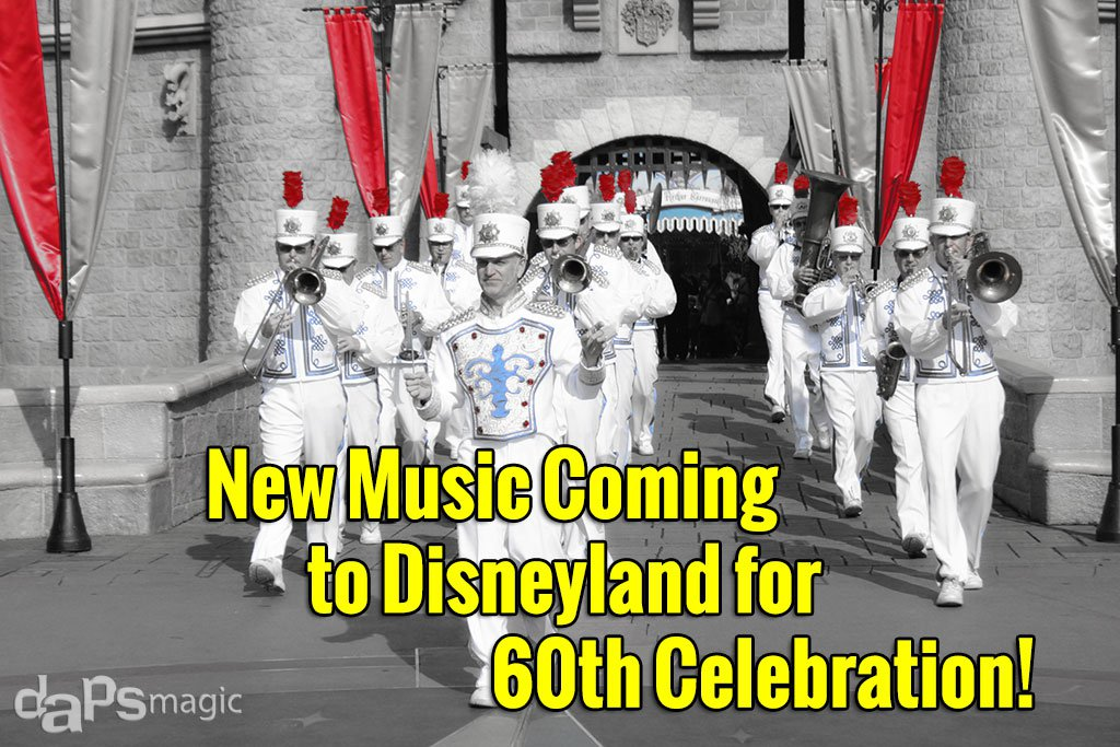 New Music Coming to Disneyland in June for 60th Anniversary Celebration