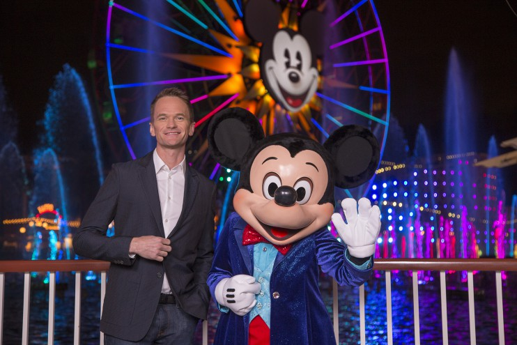Neil Patrick Harris and Mickey Mouse host World of Color - Celebrate! World Premiere