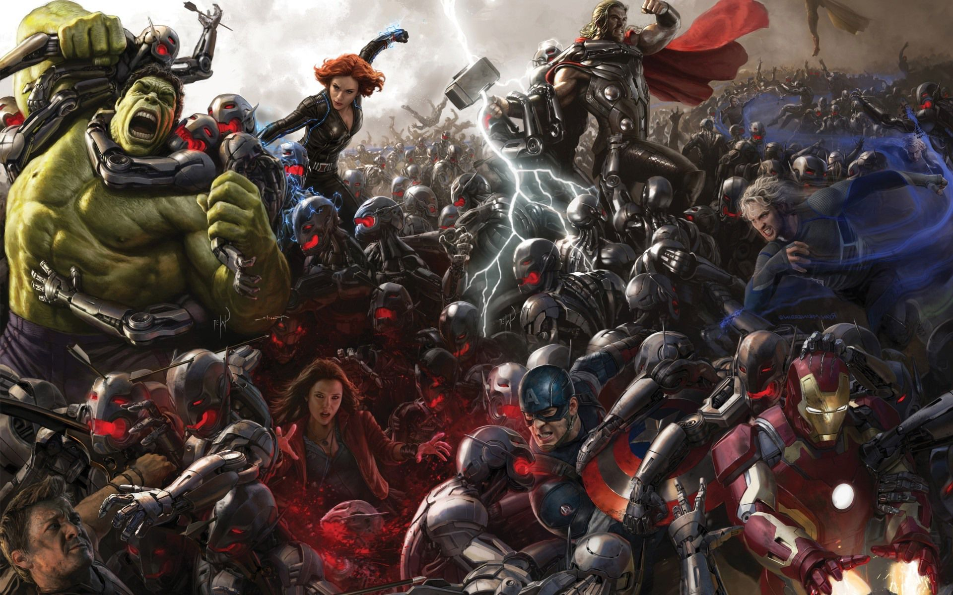 Guide to Avengers: Age of Ultron – Easter Eggs and Comics Comparison