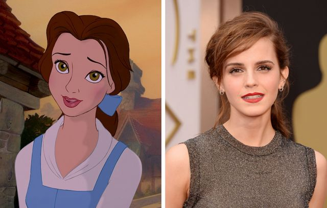 See What the Live Action 'Beauty and the Beast' Cast Looks Like