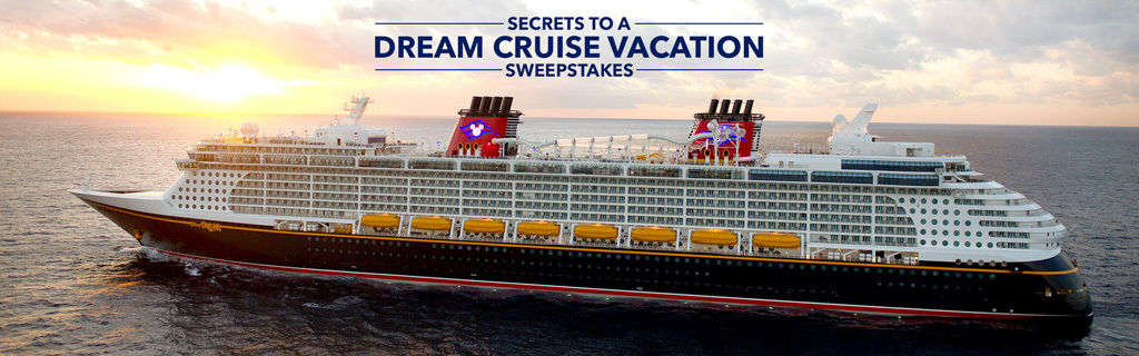 Time to Enter the Secrets to a Dream Cruise Vacation Sweepstakes