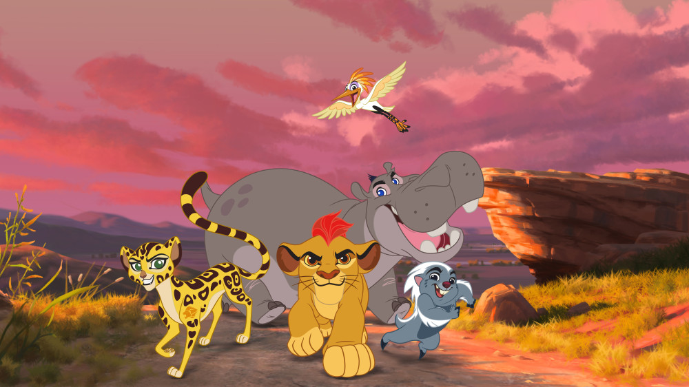 """First View of Disney Junior's """"The Lion Guard: Return of the Roar"""""""