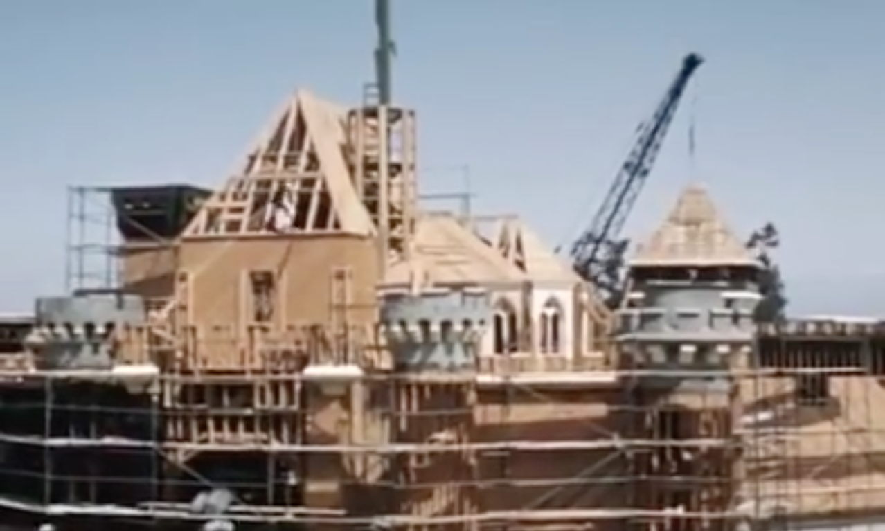 New Video Shows In-Depth Look at Construction of Disneyland