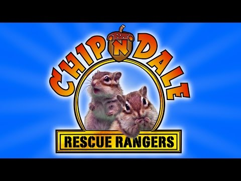 "What Would the ""Chip 'n' Dale Rescue Rangers"" TV Show Look Like With Real Chipmunks?"
