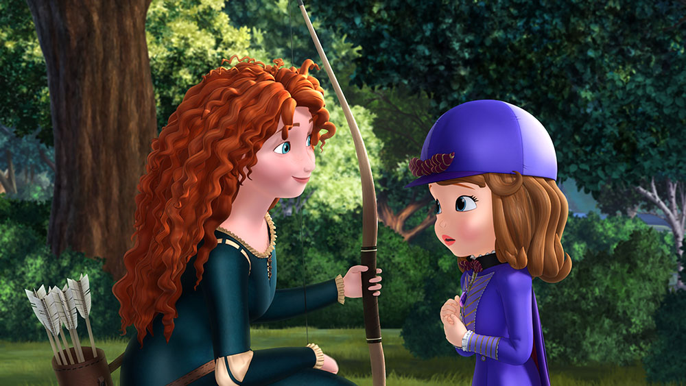 """""""Brave's"""" Merida to Appear in """"Sofia the First: The Secret Library"""""""