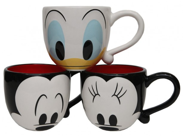 New Disney Themed Coffee Mugs Heading to Disney Parks