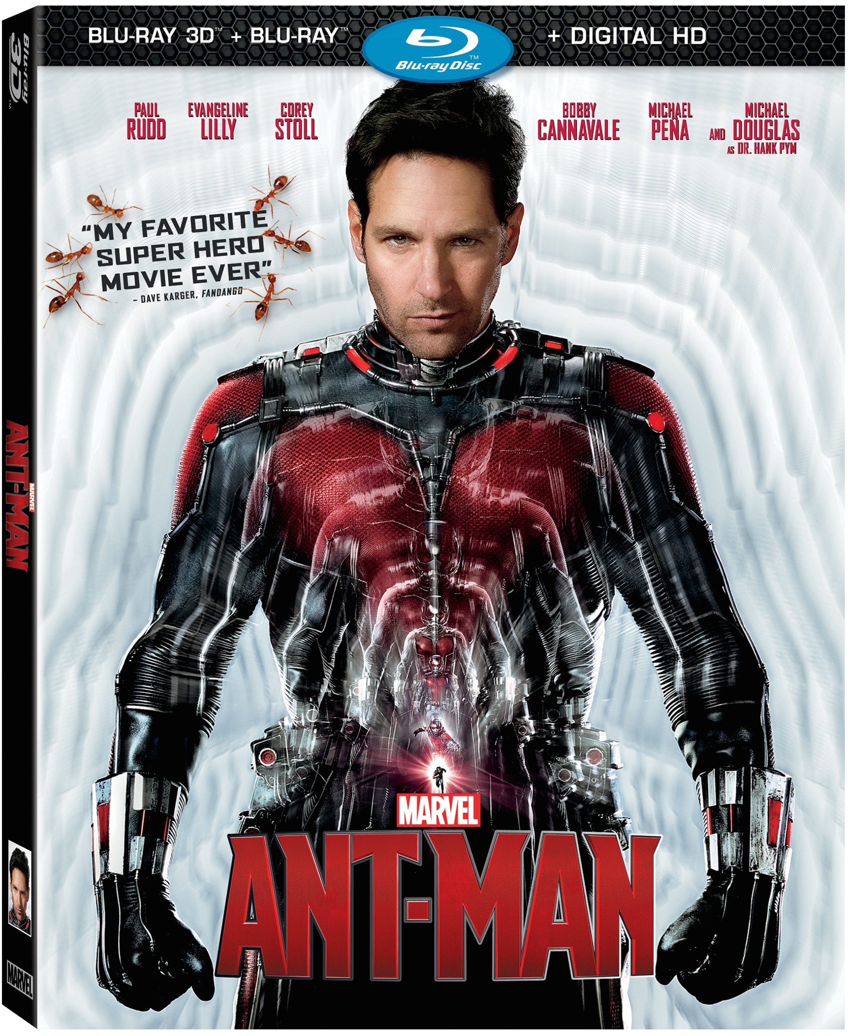 Marvel's Ant-Man Soon Available for Digital Download, Blu-Ray, and DVD!