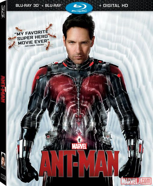 """Marvel's """"Ant-Man"""" Now Available on Digital HD & Disney Movies Anywhere"""