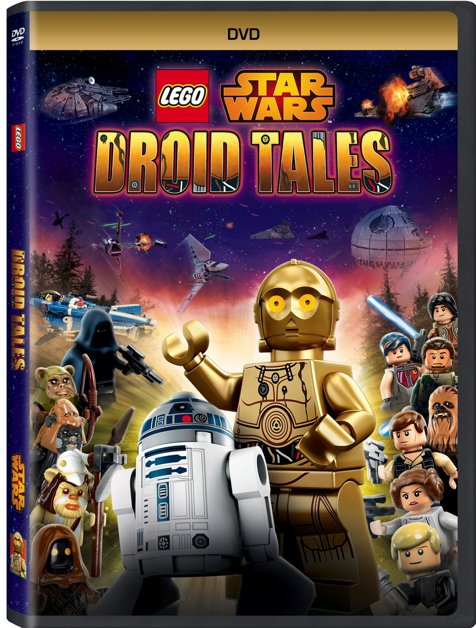 The Adventurous 'LEGO® STAR WARS: Droid Tales' Soon to be Available on DVD