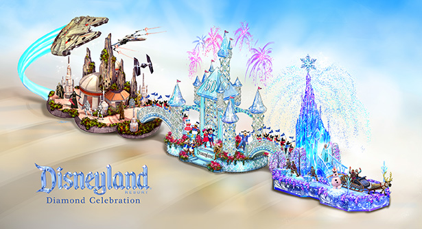 Disneyland Resort Adds a Dazzling Float to the 2016 Rose Parade