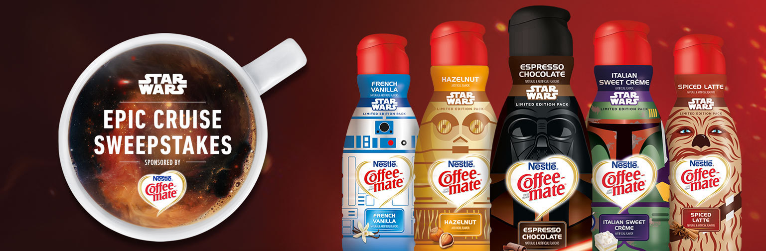 Coffee-mate & The Disney Cruise Line Team Up For An Out Of This World Sweepstakes