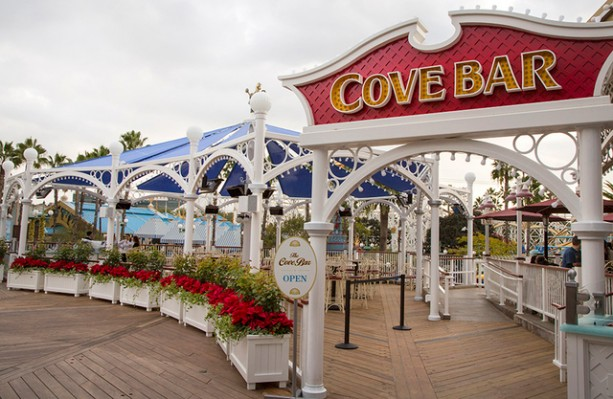 Disney California Adventure's Cove Bar Expansion Complete & Now Open