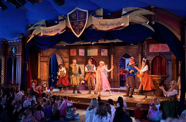 Disneyland's Royal Theatre Welcomes Return of 'Tangled' Show January 15