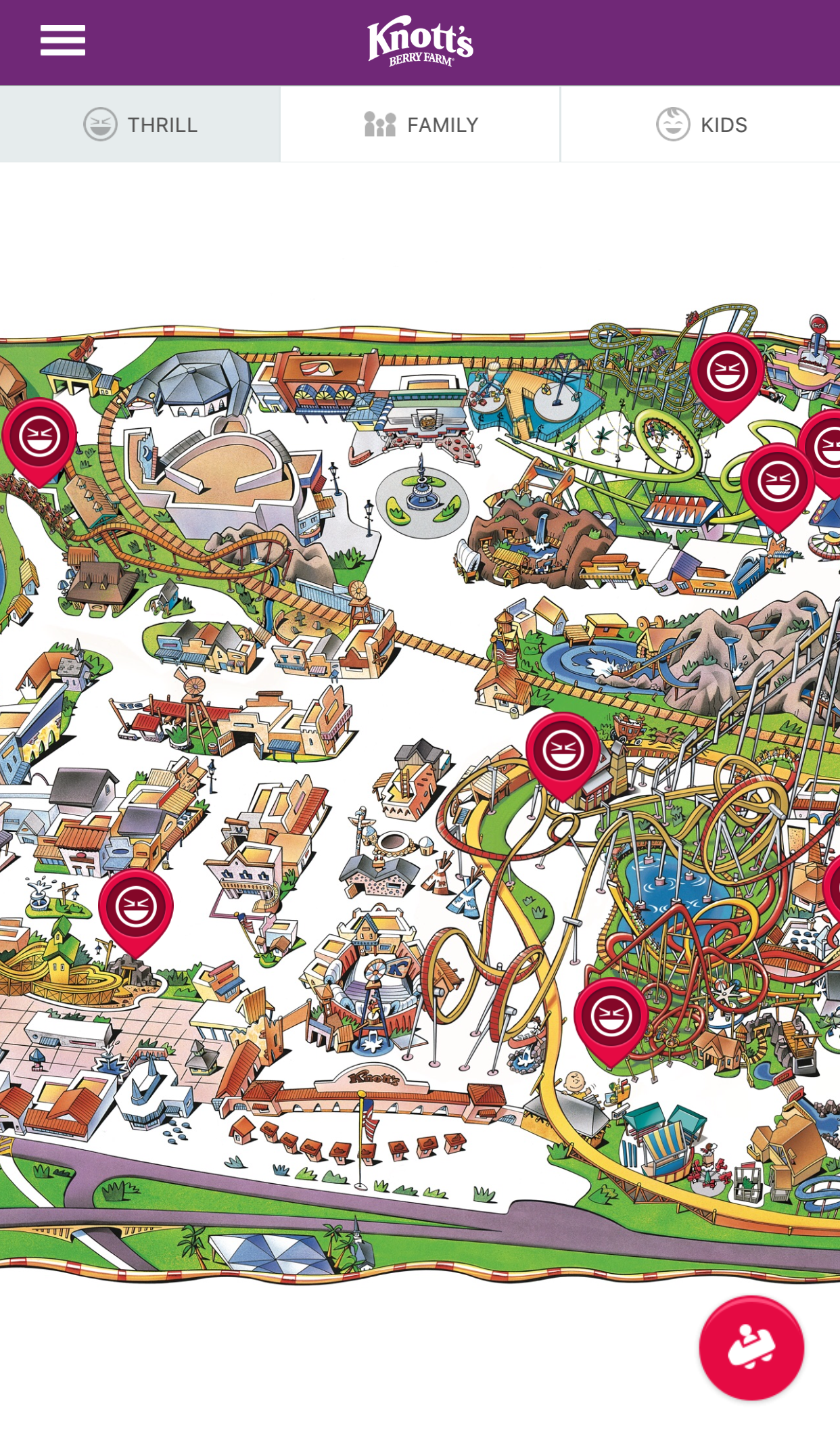 Knott's Berry Farm's New App Packs Lots Of Features