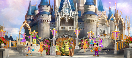 Magic Kingdom Park to Debut New Castle Show this Summer