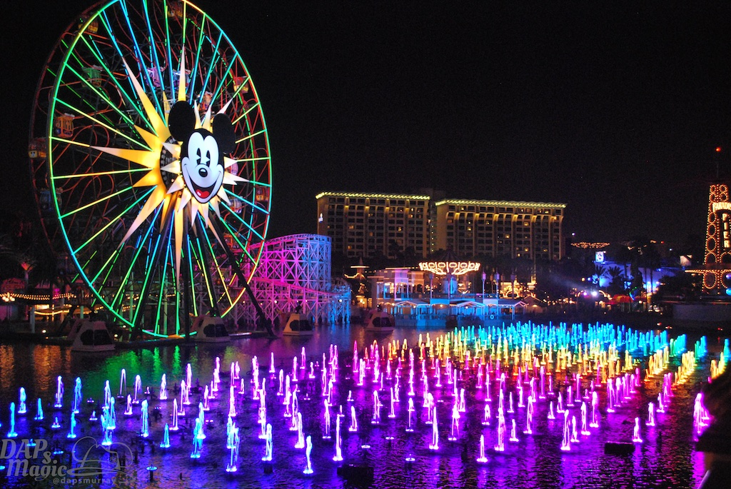 Reservations Now Open for Disney California Adventure's World of Color Dessert Party