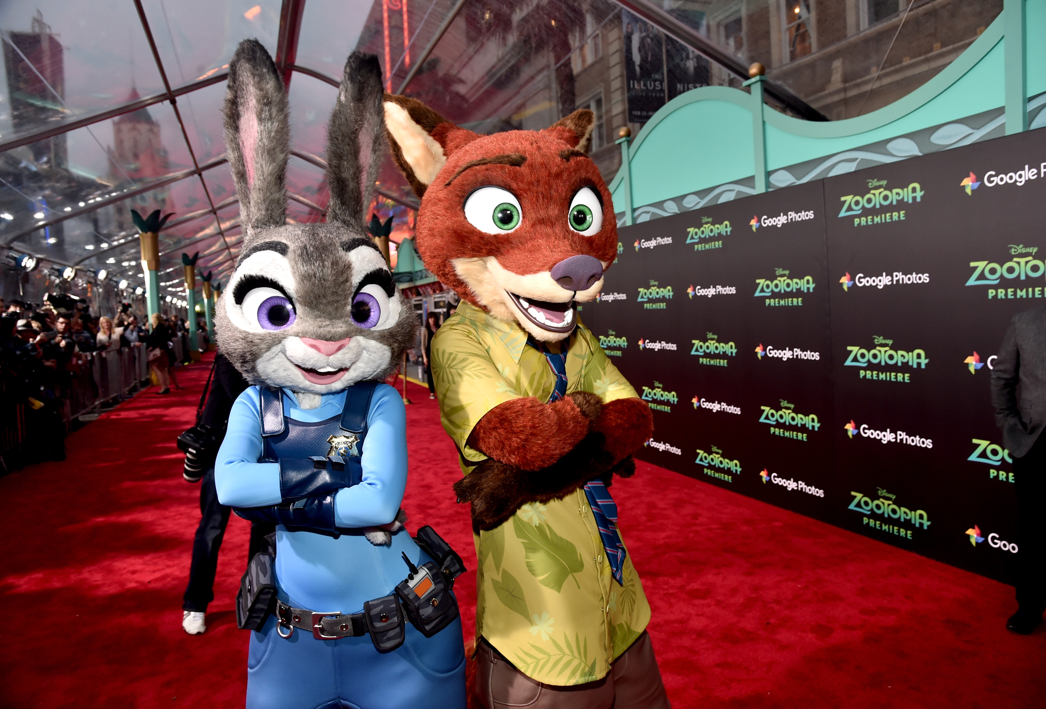 Walt Disney Animation Studios' 'Zootopia' Holds Red Carpet in Los Angeles
