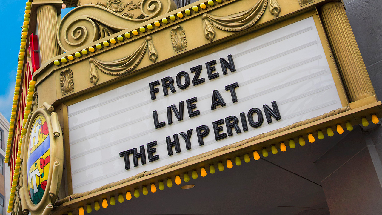 Disney Parks Shares a Look at the Progression of 'Frozen – Live at the Hyperion'
