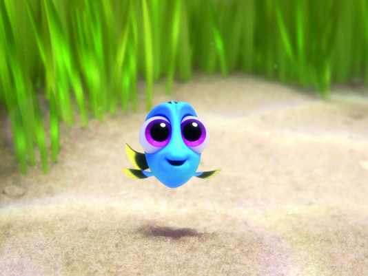 """Baby Version of Dory From 'Finding Dory' Will Have You Saying """"Awww"""""""