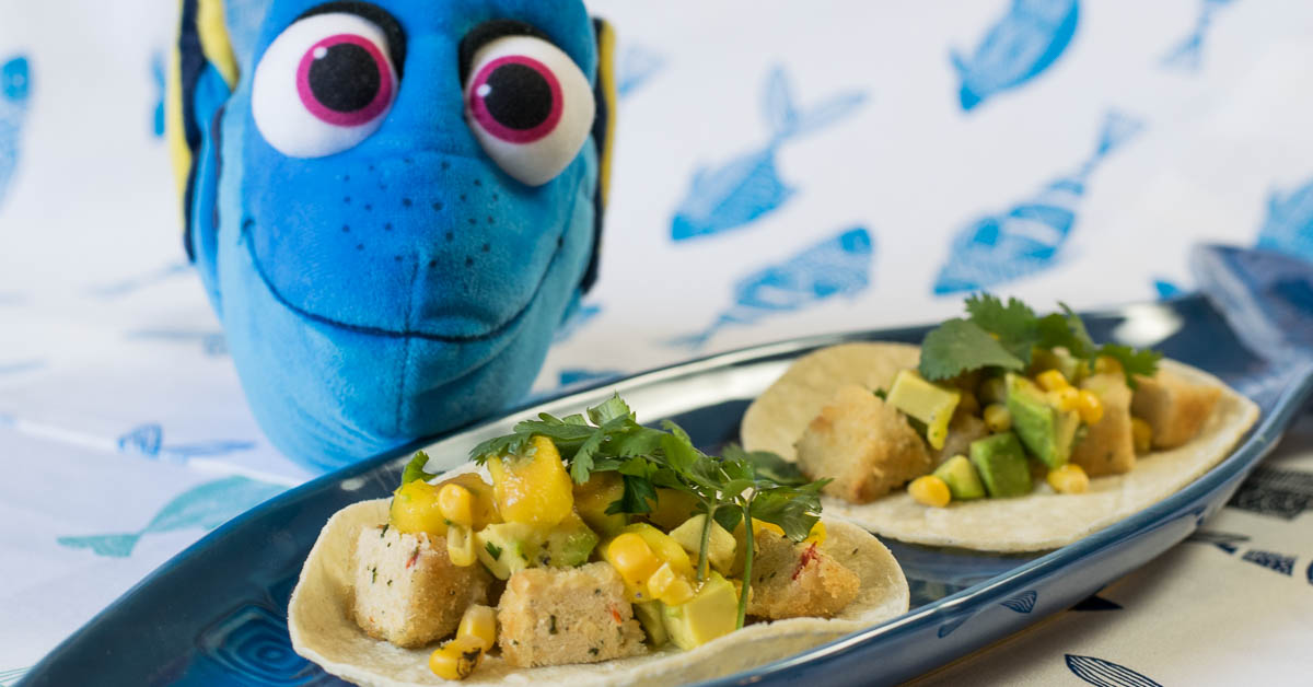 Geeks Who Eat - Fish Are Friends Not Food Tacos- A Finding Dory Inspired Recipe
