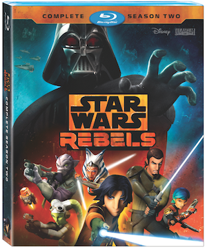 Star Wars Rebels: Season 2 Flying to Blu-Ray and DVD on August 30