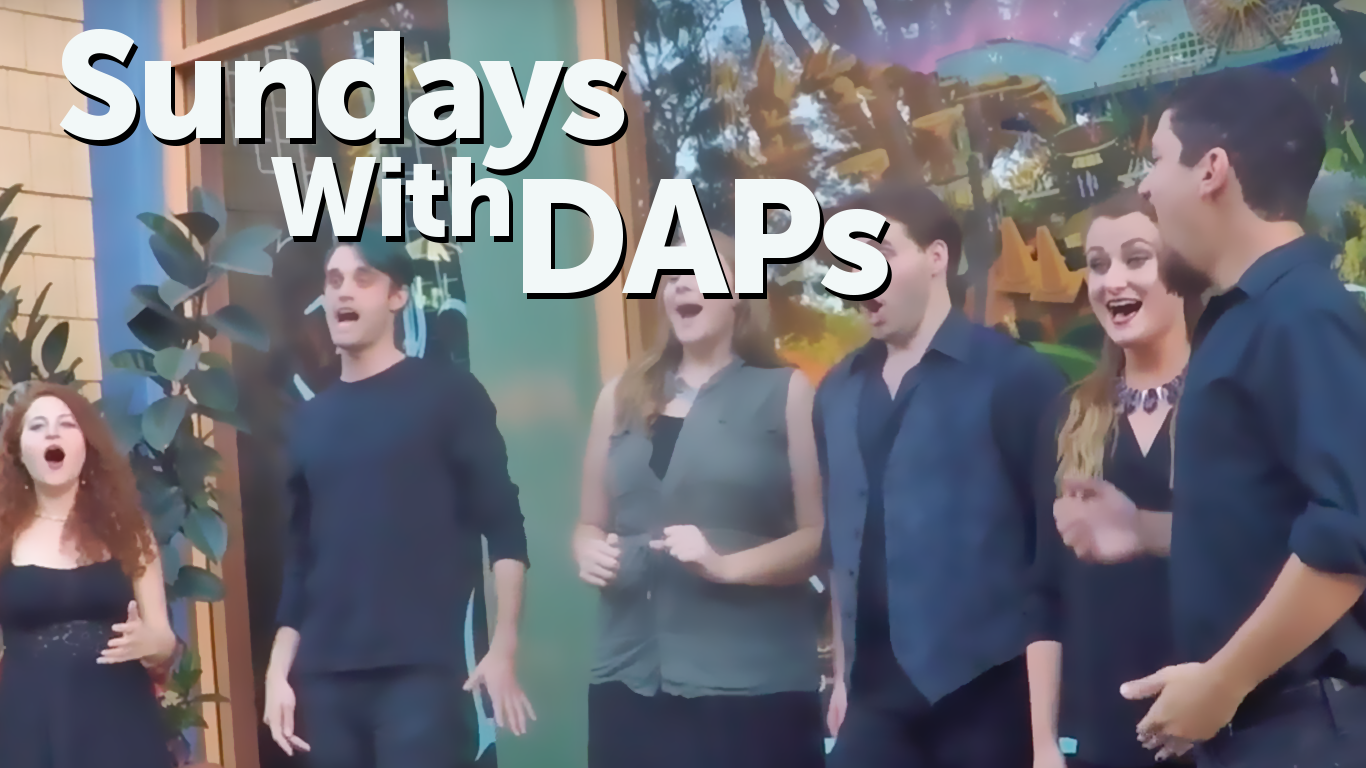Downtown Disney Entertainment: WestBeat Sings Star Wars – Sundays With DAPs