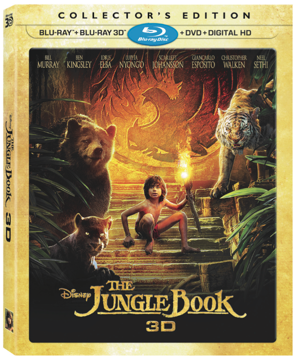 Disney's 'The Jungle Book' 3D Collector's Edition Swings to Shelves on Nov. 15