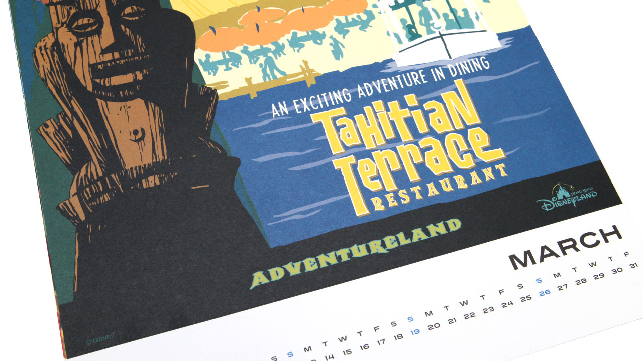 Disney Parks Attraction Poster Calendars to Return