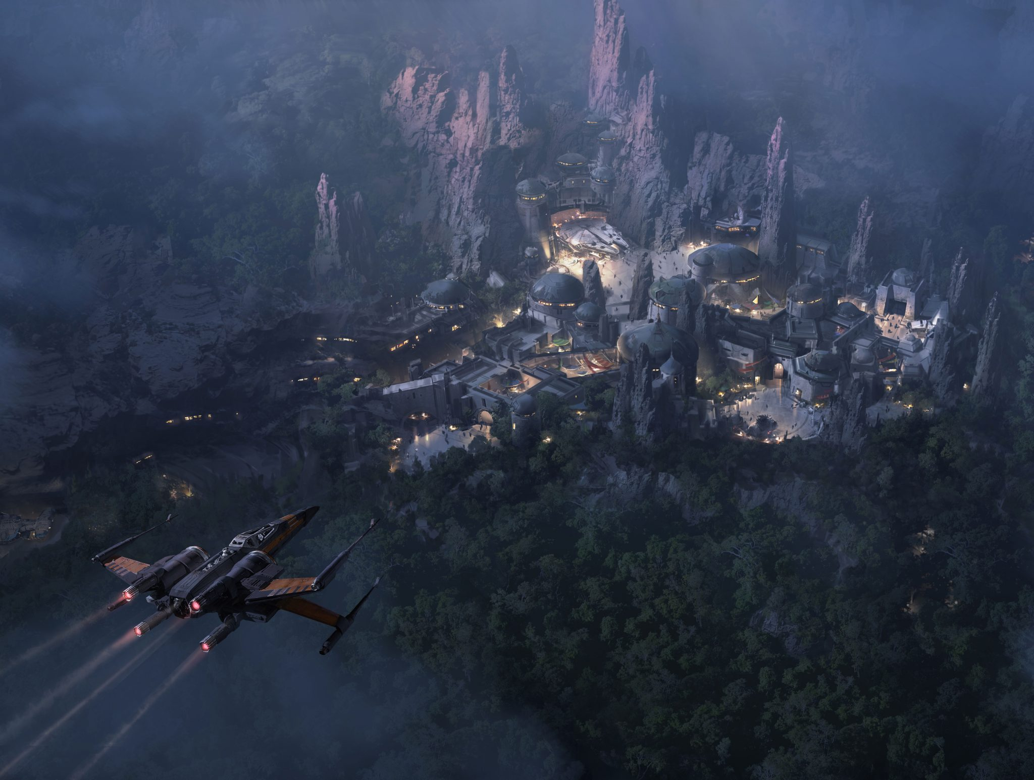 New Star Wars Land Image and New Star Tours Destination
