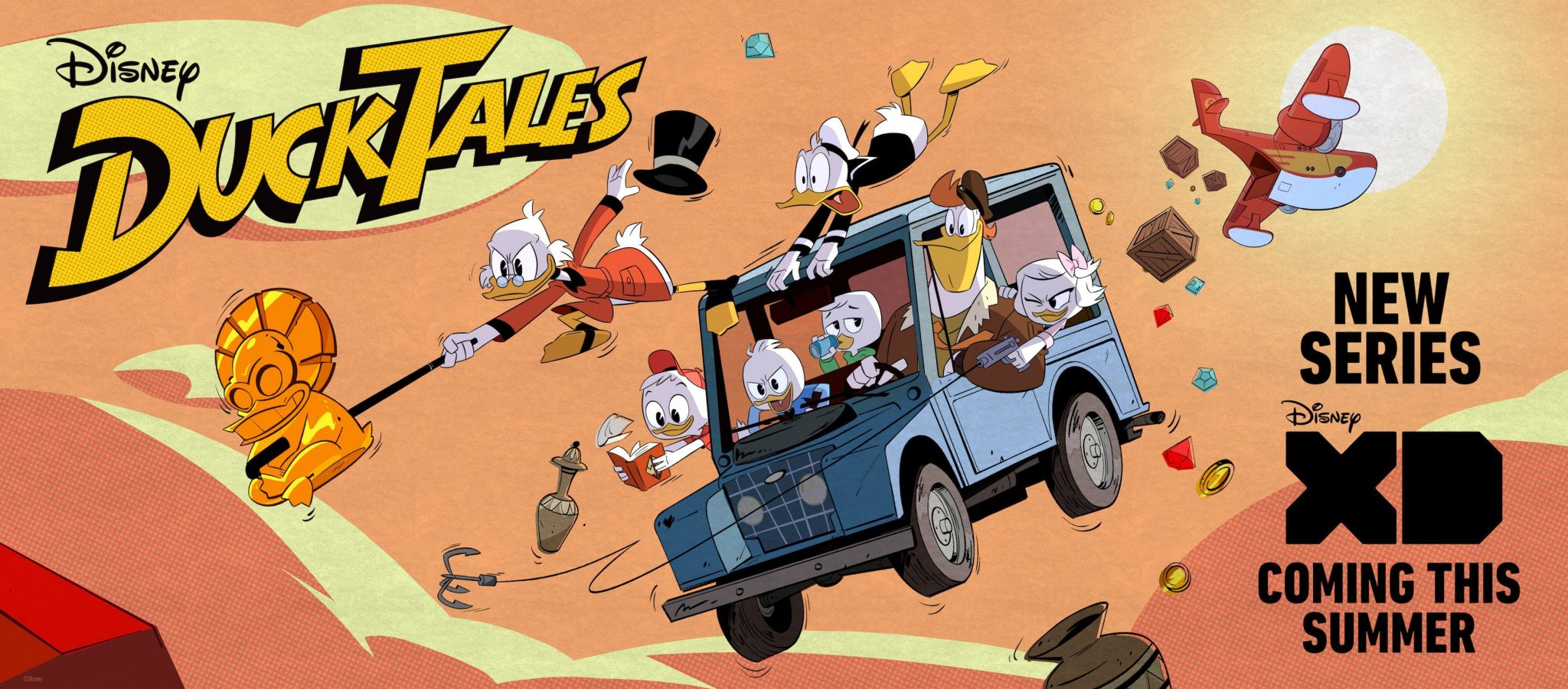 Disney Releases New DuckTales Teaser, Image, and Release Information