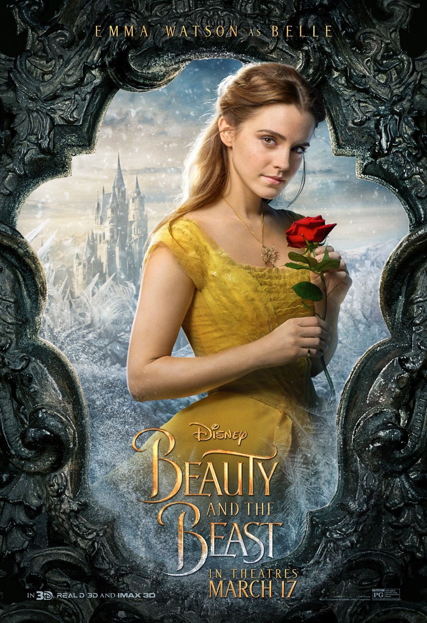 Disney's Beauty and the Beast Character Posters Unveiled