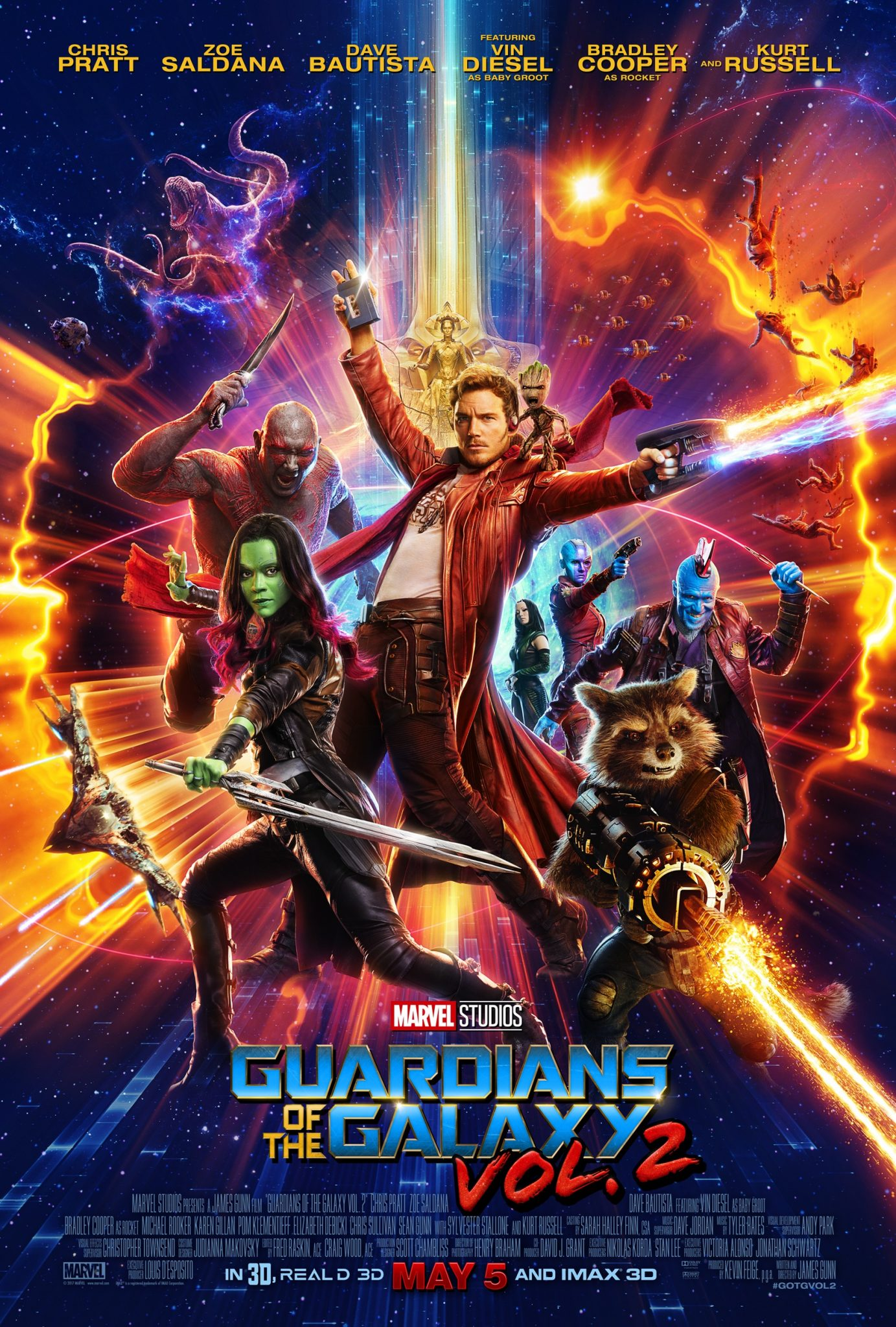 Guardians of the Galaxy Vol 2. Poster