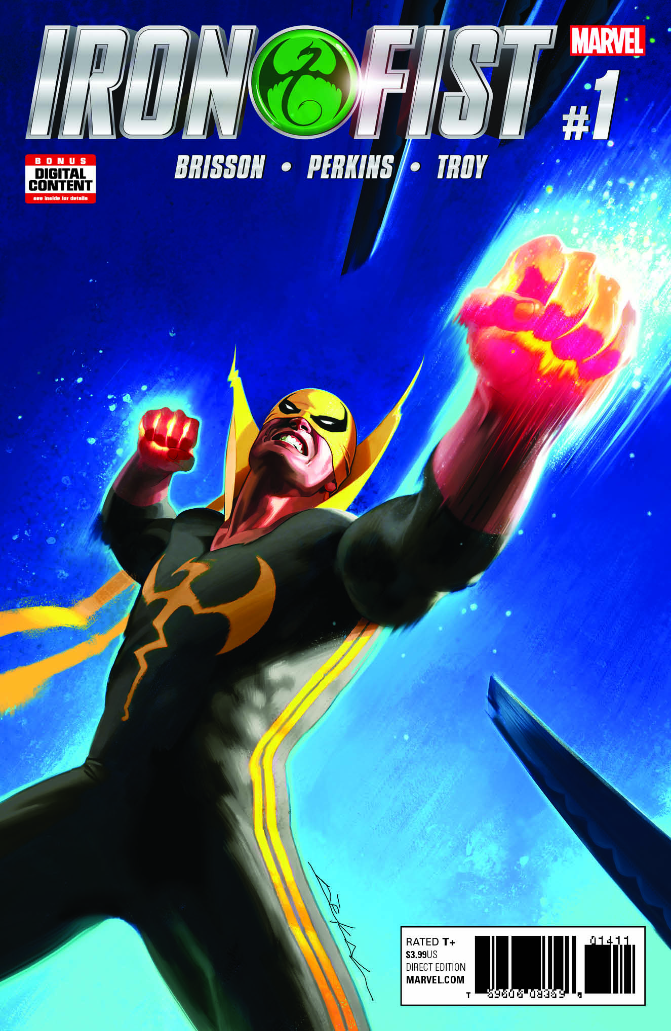 Marvel Comics News Digest 2/20 – 2/24/17 Featuring Iron Fist and Unworthy Thor