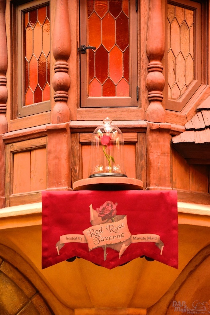 Red Rose Taverne Open For Delicious Beauty and the Beast Inspired Meals at Disneyland