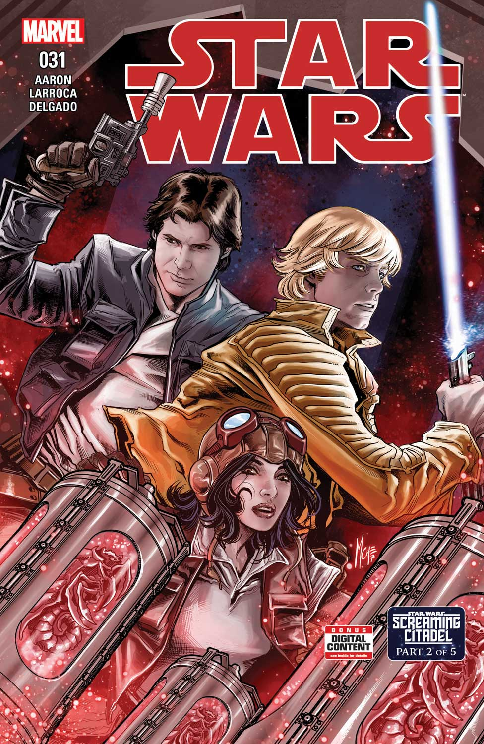Marvel Comics News Digest 2/6 – 2/10/17 Featuring America and Star Wars