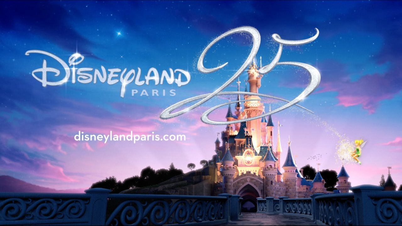 Disneyland Paris Sparkles For 25th Anniversary with New Attractions and Entertainment