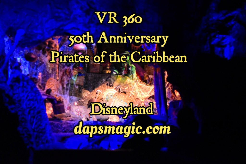 Virtual Rides of Pirates of the Caribbean at Two Disneylands
