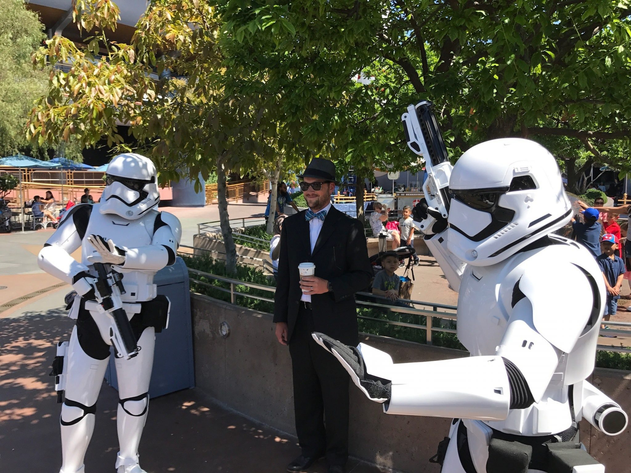 Mr. DAPs gets arrested by the First Order at Disneyland