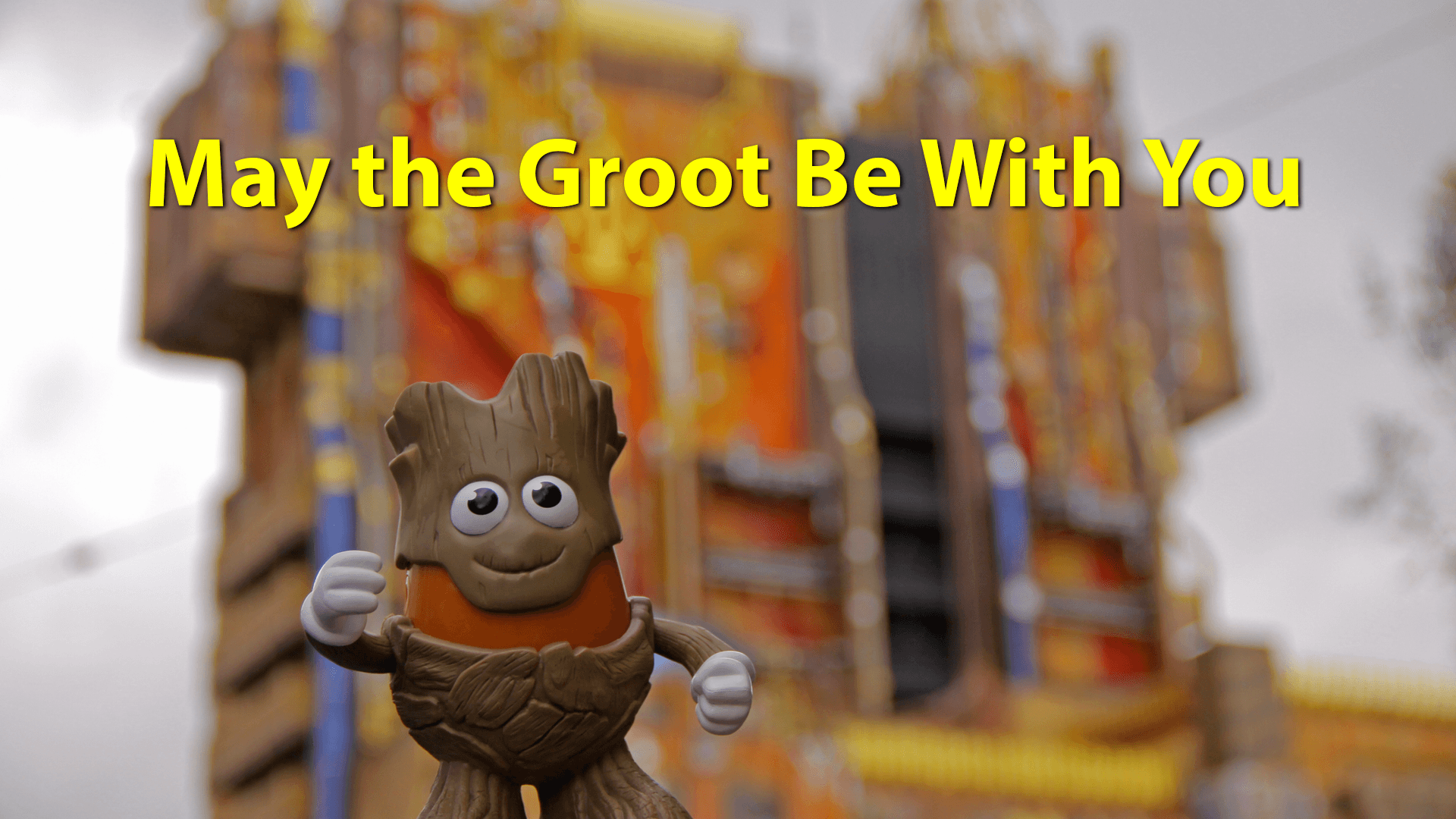 May the GROOT Be With You