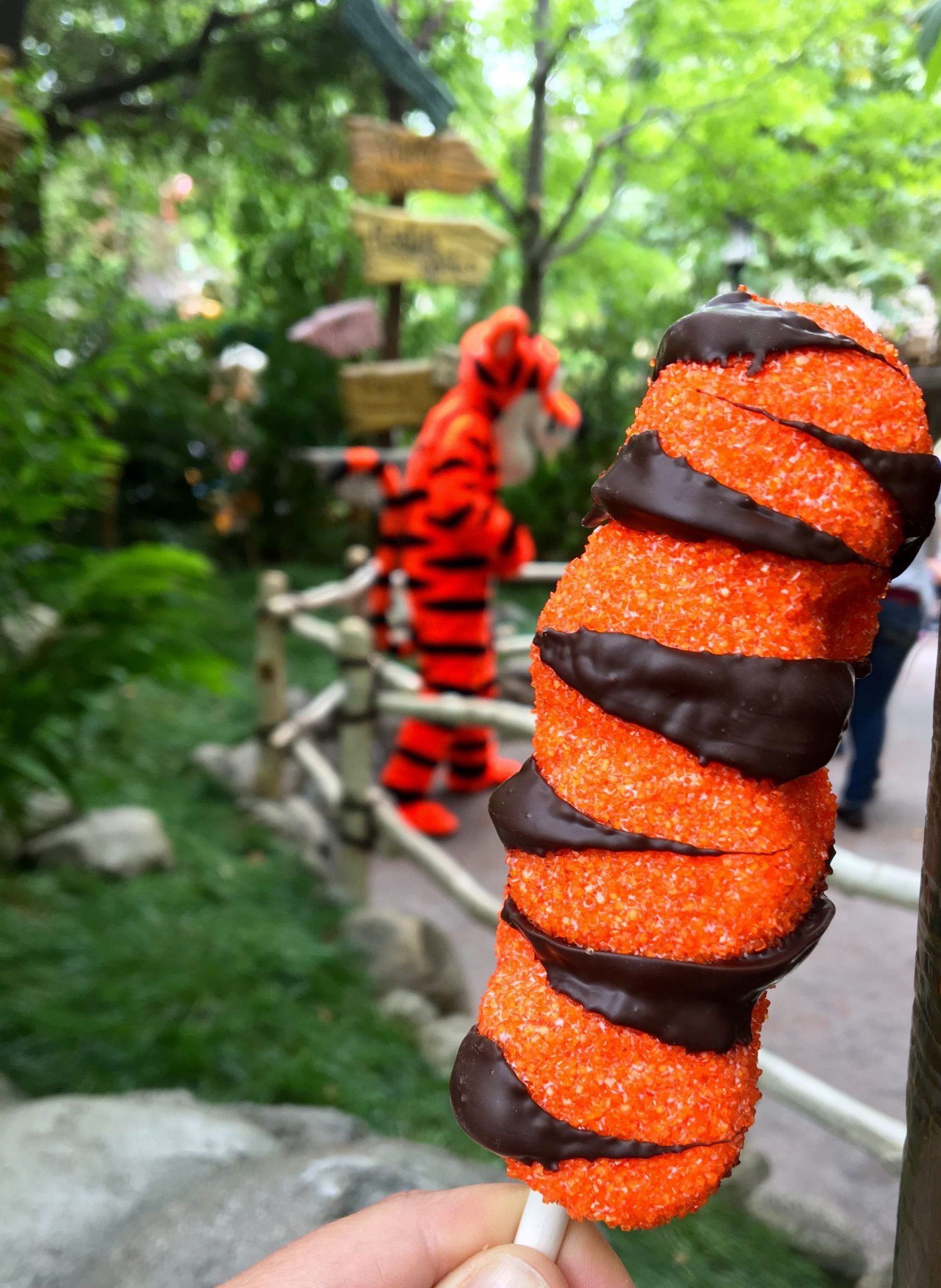 Sweeter Than Pooh's Honey: the Tigger Tail from Pooh's Corner