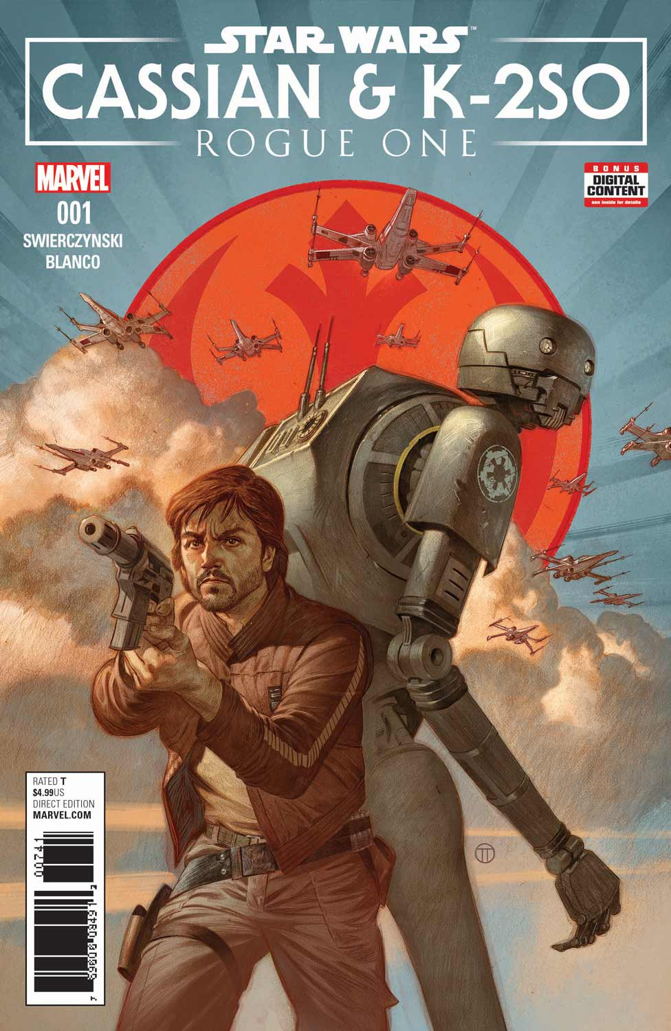 Marvel Comics News Digest 5/15 – 5/19/17 Featuring Rogue One and Mace Windu