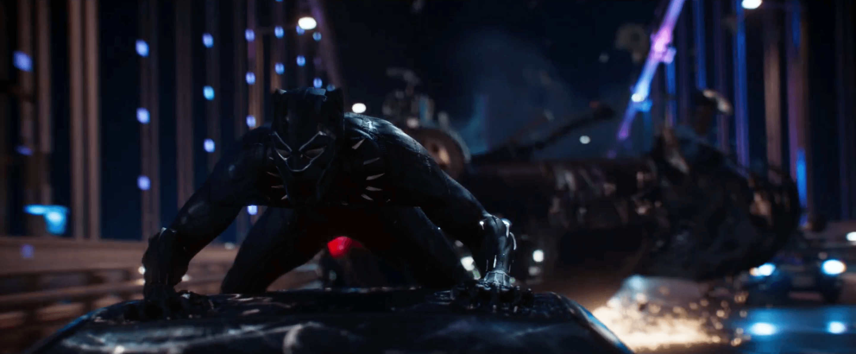 Marvel Releases First Black Panther Trailer