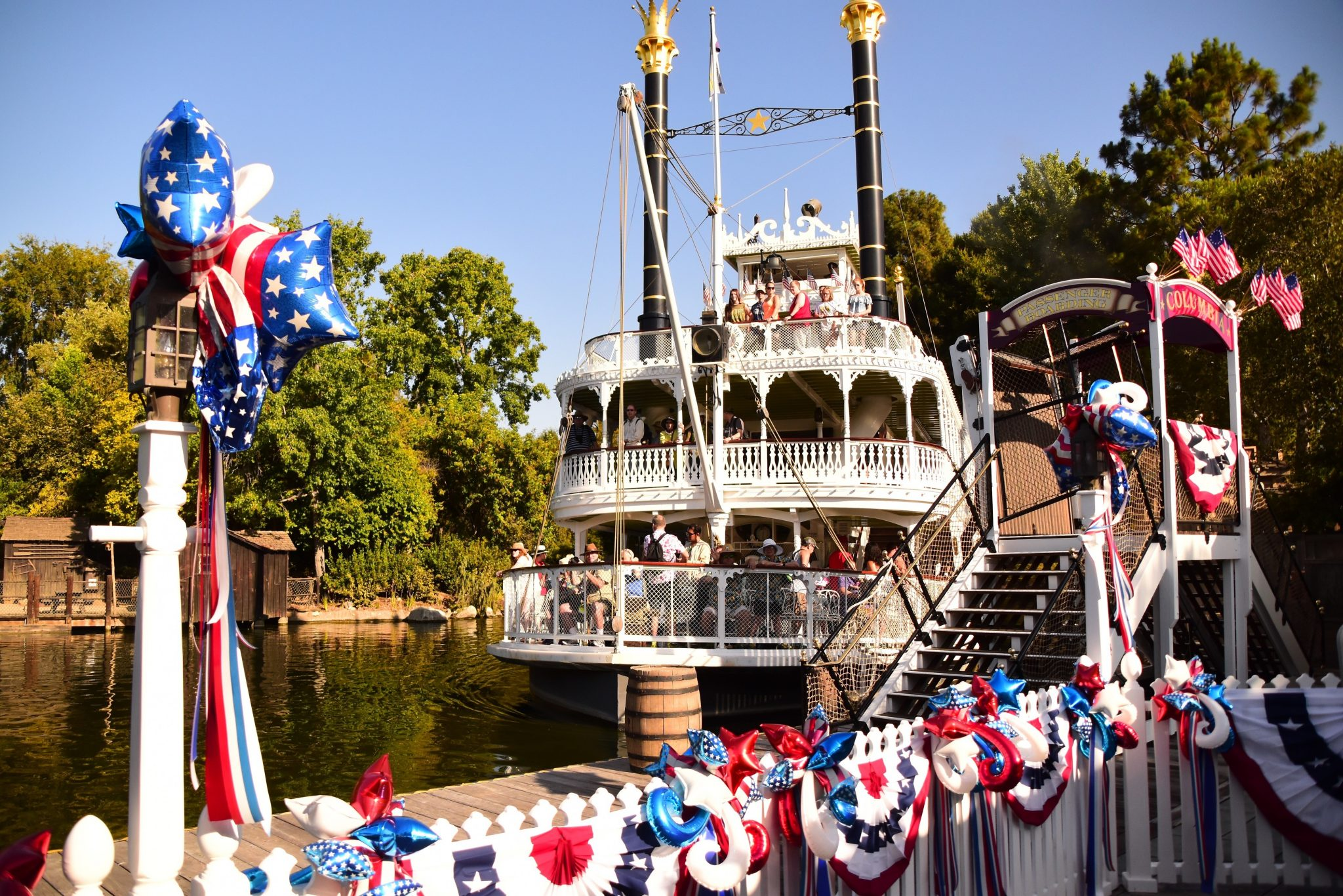 Mark Twain and Columbia Reopen to Take Guests on Voyage Along Rivers of America