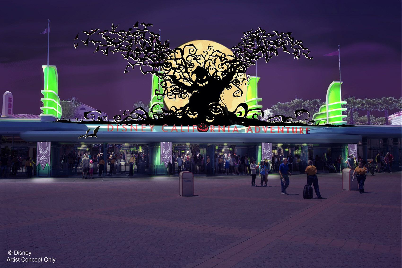 Oogie Boogie Takes Halloween Time to a Whole New Level at the Disneyland Resort