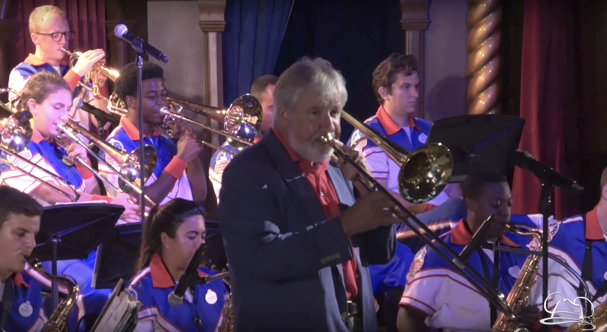 JIggs Whigham and the Disneyland Resort 2017 All-American College Band