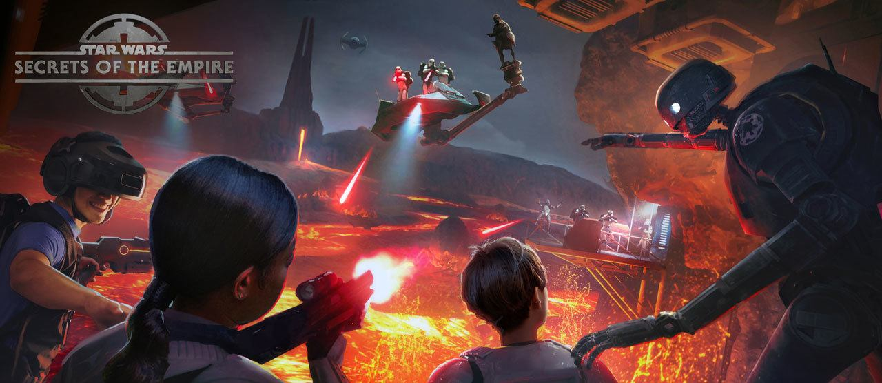STAR WARS: SECRETS OF THE EMPIRE Hyper-Reality Experience Coming to Downtown Disney and Disney Springs!