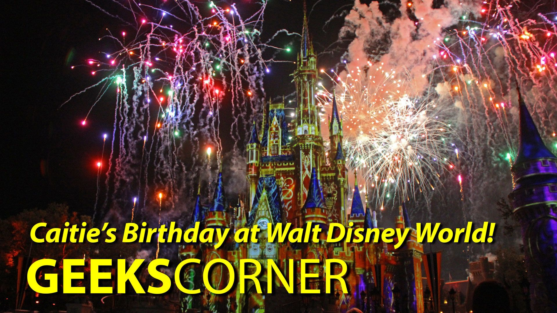 Caitie's Birthday at Walt Disney World! - GEEKS CORNER - Episode 804