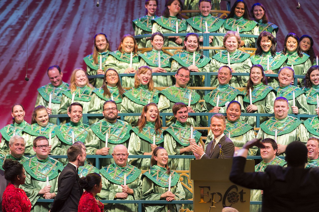 Candlelight Processional Narrators Announced for 2017 Holiday Season at Epcot