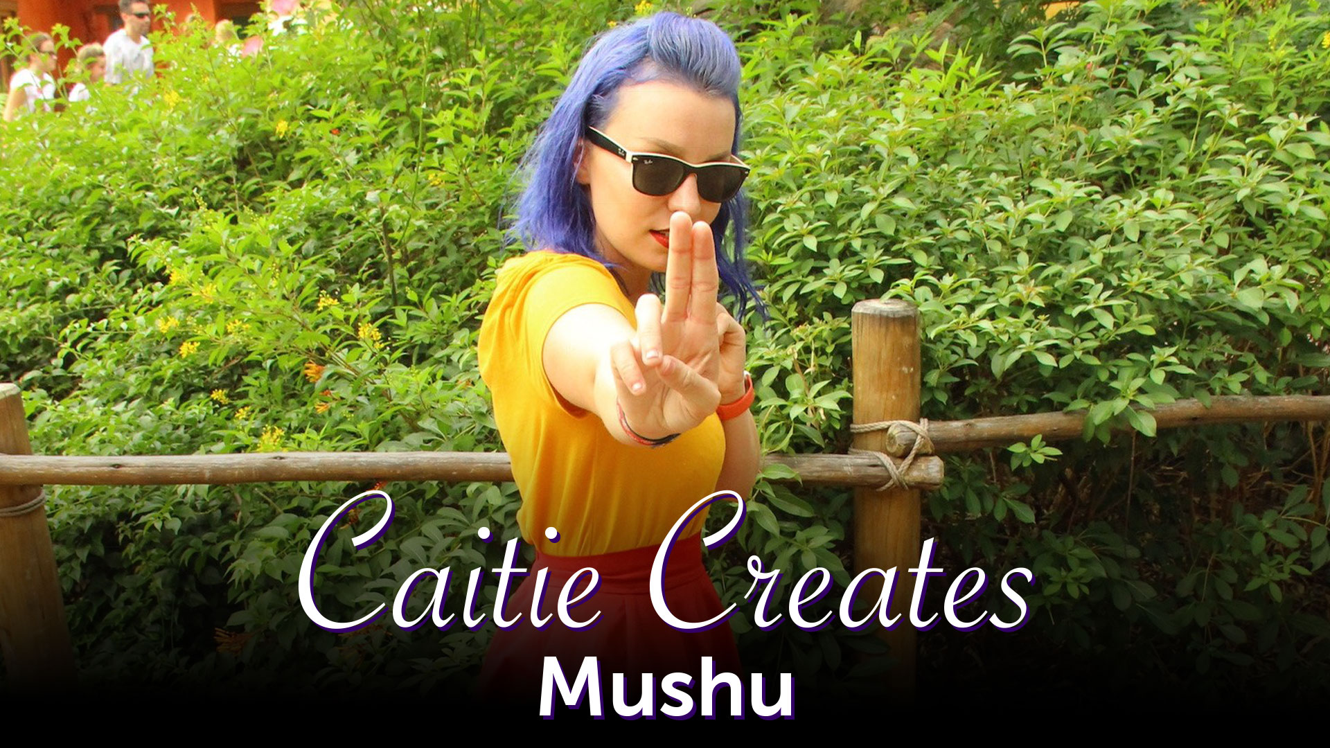 Caitie Creates - Mushu Disneybound